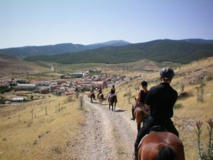 Horsebackriding in Spain